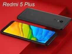 Xiaomi Redmi 5 Plus. Новый, 32 Гб, Черный, 4G LTE