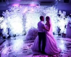 Оформление зала, декор свадьбы. Уссурийск