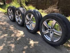 Комплект летних колес на 17 (резина с литьем). Отправлю в регионы РФ. 7.0x17 5x100.00