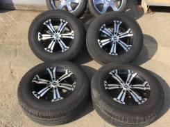 265/65R17 Dunlop с литьём на Prado 120-150 Lexus GX470-460 R17 8j 25. 7.5x17 6x139.70 ET25