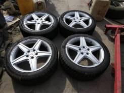 """Комплект колес Aga Targa Mercedes Benz 22545R-17 c зимней резиной. 7.5x17"""" 5x112.00 ET47 ЦО 73,0мм."""