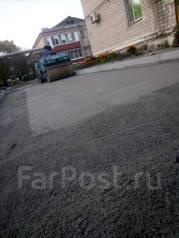 Укладка брусчатки и асфалтобетонного покрытия