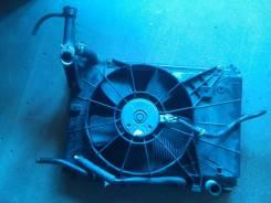 Радиатор охлаждения двигателя. Mazda Demio