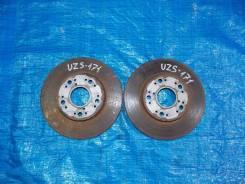 Диск тормозной. Toyota Crown Majesta, JZS147, JZS149, JZS155, JZS177, UZS141, UZS147, UZS151, UZS157, UZS171, UZS175 Toyota Crown, JZS147, JZS149, JZS...