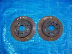 Диск тормозной. Toyota Crown Majesta, JZS177, UZS171, UZS175 Toyota Crown, JZS177, UZS171, UZS175 Двигатели: 1UZFE, 2JZFSE