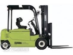 Clark GEX30. Электрический вилочный погрузчик Clark GEX 30 мачта 4,8 свобод. ход, 3 000кг., Электрический