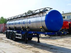 Steelbear. Полуприцеп-цистерна (молоковоз) ВОМЗ SteelBear 2015 г/в, 24 720кг.