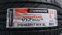Hankook Ventus V12 Evo2 K120. Летние, 2017 год, без износа, 4 шт