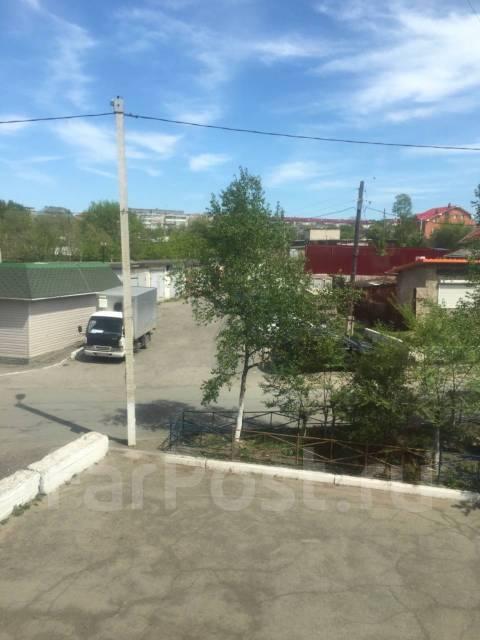 Гостинка, улица Уссурийская 6. Автовокзал, 24кв.м. Вид из окна днем