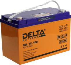Delta. 100А.ч., Прямая (правое), производство Китай