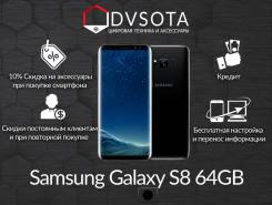 Samsung Galaxy S8. Новый, 64 Гб, Черный, 4G LTE, Защищенный