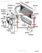 Дефлектор радиатора.