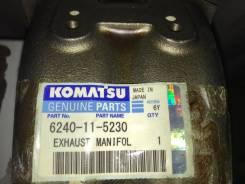 Коллектор выпускной. Komatsu PC1250-7