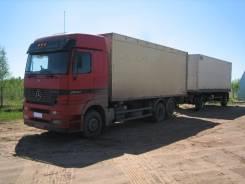 Mercedes-Benz Actros. Продается грузовик Mersedes Actros с прицепом Fruehauf, 12 000куб. см., 20 000кг.