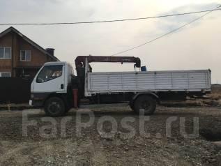 Бортовой грузовик с манипулятором