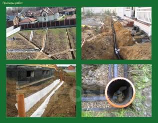 Подготовка земельных участков под строительство (дренаж, осушение)