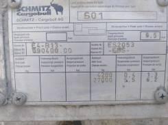 Schmitz. Полуприцеп шмитц 2004года, 37 000кг.