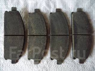 Колодка тормозная дисковая. Nissan Terrano, LR50, RR50, PR50, LVR50, TR50 Двигатели: QD32ETI, VG33E, TD27ETI, ZD30DDTI
