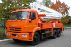 КамАЗ 58152А. Автобетононасос 58152А (АБН 90/21) Высота 21 м. Камаз 65115, 10 000куб. см., 21м. Под заказ
