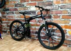 """27.5"""" Складной алюминиевый велосипед Warrior iRide на рост до 200см"""