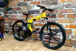 """26"""" Складной алюминиевый велосипед Warrior"""