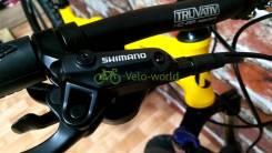 """26"""" Складной алюминиевый велосипед Warrior(гидравлика Shimano)"""