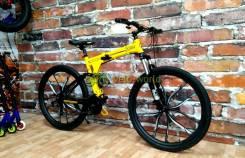 """27.5"""" Складной алюминиевый велосипед Warrior iRide на рост до 200"""