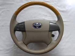 Руль. Toyota: Premio, Allion, Allex, Mark X Zio, Aurion, Aristo, Voxy, Avensis, Camry, Estima Hybrid, Noah, Corolla, Altezza, Avalon, Auris, Blade, Kl...