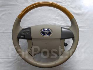 Руль. Toyota: Premio, Allion, Allex, Mark X Zio, Aurion, Aristo, Voxy, Avensis, Camry, Noah, Estima Hybrid, Corolla, Altezza, Avalon, Auris, Blade, Hi...