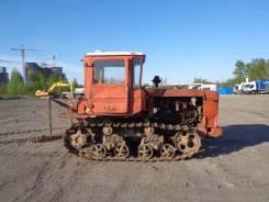 Вгтз ДТ-75. Трактор, бульдозер ДТ-75 с навесным, 2002 г. , 6 190,00кг.