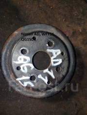 Шкив помпы. Nissan AD, WFY11 Двигатель QG15DE