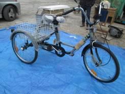 Велосипед трехколесный Трицикл Грузовой с спидометром Новая
