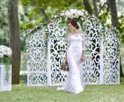 Оформление свадебной выездной регистрации, президиума молодоженов.