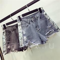 Шорты джинсовые. 40, 42, 44, 46. Под заказ