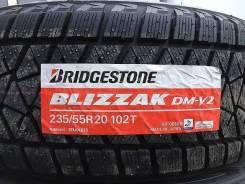 Bridgestone Blizzak DM-V2. Зимние, без шипов, 2017 год, без износа, 4 шт