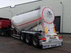 Oztas Trailer. Полуприцеп для сыпучих грузов, цементовоз муковоз, 40 000кг. Под заказ