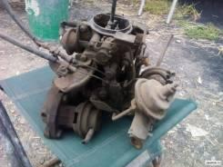 Карбюратор. Subaru Rex Двигатель EK23