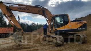Hyundai R220LC-9S. Экскаватор гусеничный Hyundai R 220 LC-9S, 1,00куб. м.