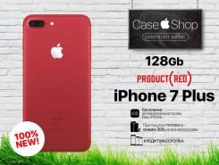 Apple iPhone 7 Plus. Новый, 128 Гб, Красный