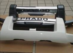 Накладка на бампер. Toyota Land Cruiser Prado, GRJ120, GRJ120W, GRJ121W, GRJ125W, KDJ120, KDJ120W, KDJ121W, KDJ125W, LJ120, RZJ120W, RZJ125W, TRJ120...