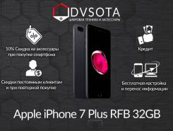 Apple iPhone 7 Plus. Новый, 32 Гб, Черный, 4G LTE, Защищенный