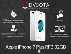 Apple iPhone 7 Plus. Новый, 32 Гб, Серебристый, 4G LTE