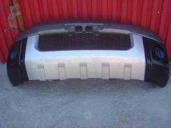 Бампер Mitsubishi Delica CV5W передний серо-черный