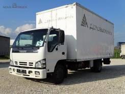 Isuzu NQR. Промтоварный фургон , 5 193куб. см., 3 835кг.