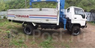 Toyota Dyna. Продам грузовик Тойота Дюна 4wD мостовой бортовой с манипулятором., 3 700куб. см., 2 000кг.