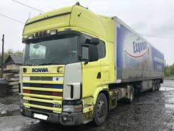 Scania. Продам сцепку и прицеп термос Schmitz. за 1 850 000р В Барнауле, 11 705куб. см., 20 000кг.