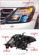 Фары (Тюнинг Комплект) Nissan Patrol (Y62) 2010-2017.