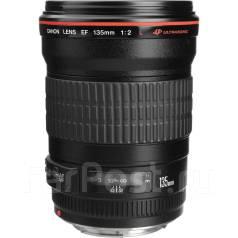 Объектив Canon 135mm f/2L USM. Для Canon, диаметр фильтра 72 мм