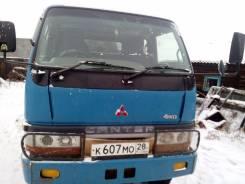 Mitsubishi Fuso Canter. Продаётся грузовик 4 вд мостовой двухкабинник, 4 600куб. см., 2 000кг., 4x4