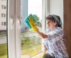 Мою окна (генеральная уборка)